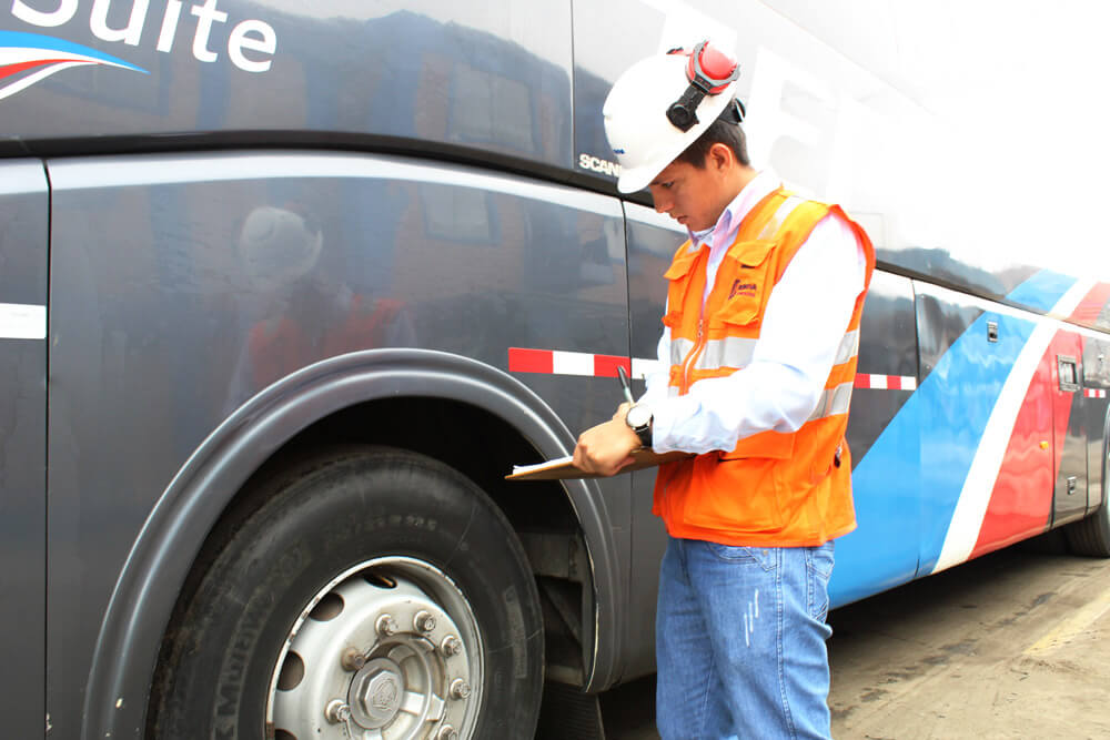 Control de flotas Bus camion