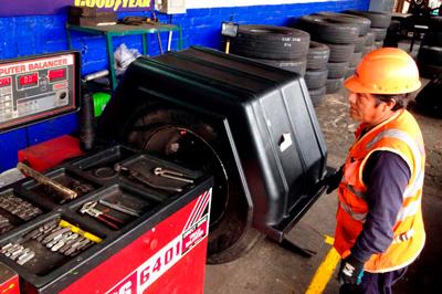 Servicio de talleres Bus camion